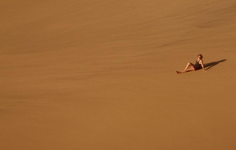 Namibia's sand dunes