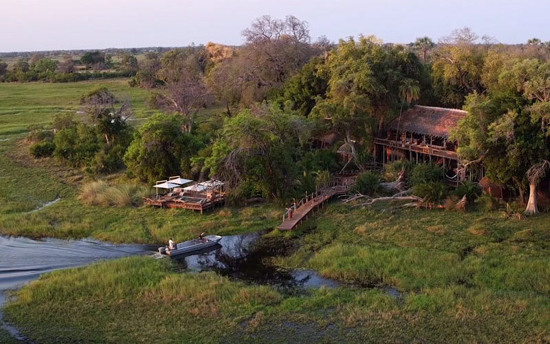 a beautiful Botswana safari lodge