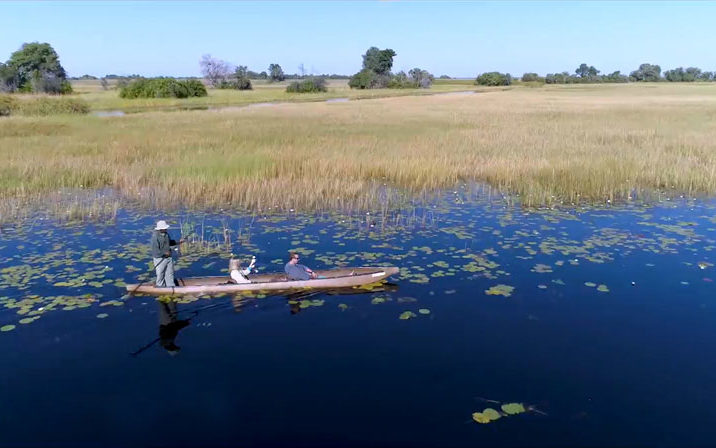 planning best African safari with a mokoro canoe ride