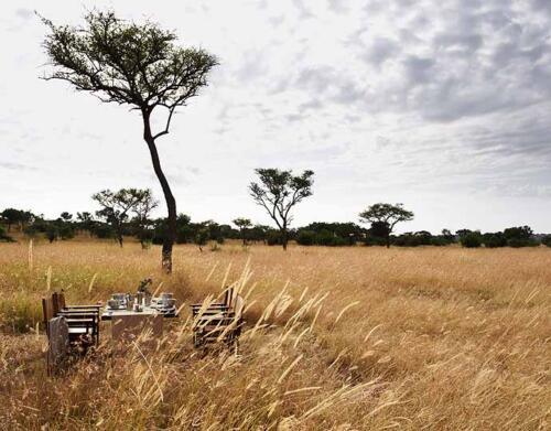 Singita Explore, Grumeti, Serengeti, Tanzania. Agency HKLM. Art