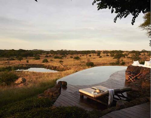 Singita Faru Faru Lodge, Grumeti, Serengeti, Tanzania. Agency HK